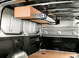 Accesorios interiores para vehículos comerciales