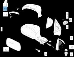 Intermitente lateral para Fiat Professional Strada