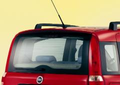 Spoiler alerón trasero de techo para Fiat Panda