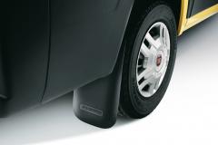 Faldillas traseras de goma para Fiat Professional Ducato