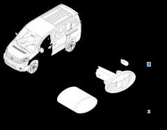Intermitente lateral para Fiat Professional Scudo