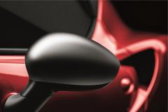 Carcasas para espejos retrovisores cromado satinado para Alfa Romeo 4C