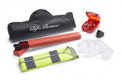 Kit de seguridad con triángulo y chaleco reflectante para Alfa Romeo Giulietta