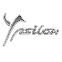 Sigla modelo Ypsilon trasera para Lancia Ypsilon