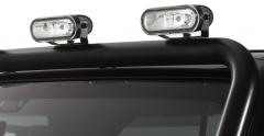 Set de luces todoterreno para barra portafaros