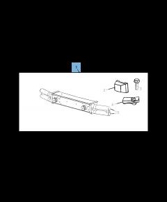 Parachoques tubular delantero para Jeep Wrangler