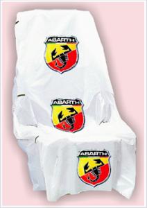 Fundas para asientos con logo Abarth