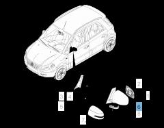 Intermitente lateral para Fiat Sedici