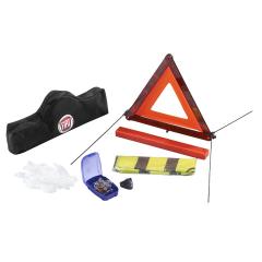 Kit de seguridad con triángulo y chaleco reflectante