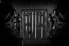 Protección bajocarrocería para eje delantero para Jeep Grand Cherokee
