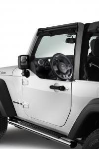 Espejos retrovisores exteriores para medias puertas