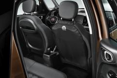 Funda negra para asientos traseros para Fiat y Fiat Professional