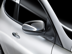 Carcasas cromadas para espejos retrovisores para Lancia Ypsilon