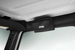 Funda para gafas de solo con el logo Jeep