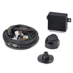 Cableado eléctrico para gancho de remolque 7/13 polos para Fiat y Fiat Professional Qubo