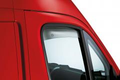 Deflectores de aire para ventanillas delanteras para Fiat Professional Ducato