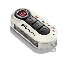 Tapa para llave para Fiat 500