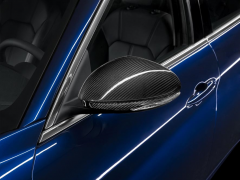 Carcasas para espejos retrovisores de fibra de carbono para Alfa Romeo Giulia