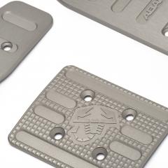Set conjunto de pedales deportivos en aluminio para cambio automático