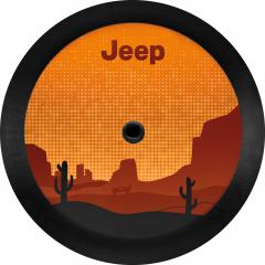 Spare Tire Cover Desert