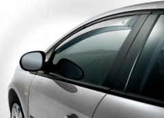 Deflectores antiturbulencia delanteros para ventanillas para Fiat