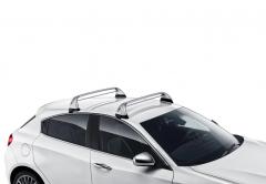 Barras portaobjetos de aluminio para techo para Alfa Romeo Giulietta