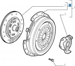 Kit embrague (plato y plato de presión) para Alfa Romeo