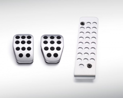 Conjunto de pedales deportivos en aluminio para cambio manual