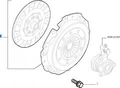 Kit embrague (plato y plato de presión) para Fiat Stilo