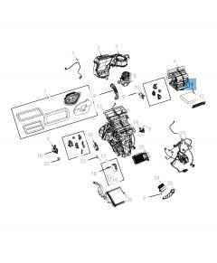 Filtro de aire del habitáculo para Jeep Compass