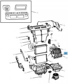 Filtro de aceite del habitáculo para Lancia Voyager