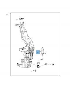 Bomba del lavaparabrisas para Jeep