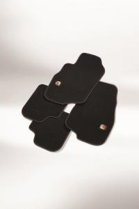 Kit de alfombrillas de moqueta para Abarth 500