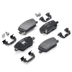 Pastilla de freno de disco delantero (set de 4 piezas) para Jeep