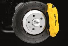 Pinzas amarillas para frenos delanteros y traseros para Alfa Romeo 4C