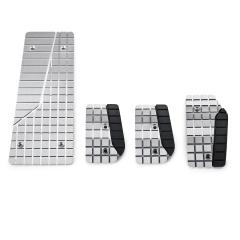 Conjunto de pedales deportivos en aluminio para Fiat