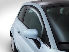 Deflectores delanteros para ventanillas para Fiat 500