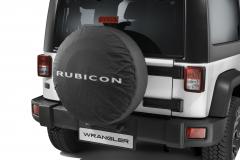 Funda para rueda de repuesto con logo Rubicon