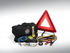 Kit de emergencia con logo Fiat para 124 Fiat Spider