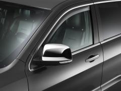 Deflectores de aire tintados para ventanillas traseras para Jeep Grand Cherokee