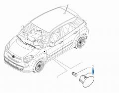 Intermitente lateral para Fiat y Fiat Professional